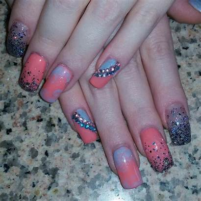 Acrylic Nail Trendy Nails Designs Trends Colourful