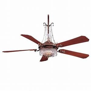 """Minka Aire Cristafano Ceiling Fan F900-BCW 68"""" Fan"""