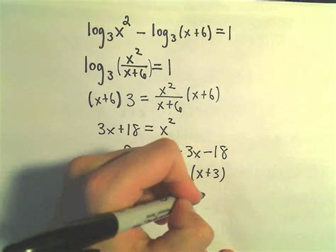solving logarithmic equations   youtube