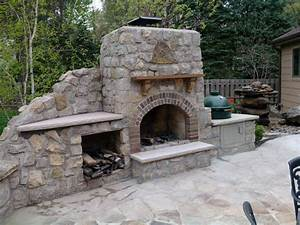 Building Outdoor Fireplace Pizza Oven  U2014 Rickyhil Outdoor Ideas