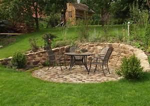 Terrasse Höher Als Garten : natursteinmauern pollozek garten und landschaftsbau ~ Orissabook.com Haus und Dekorationen