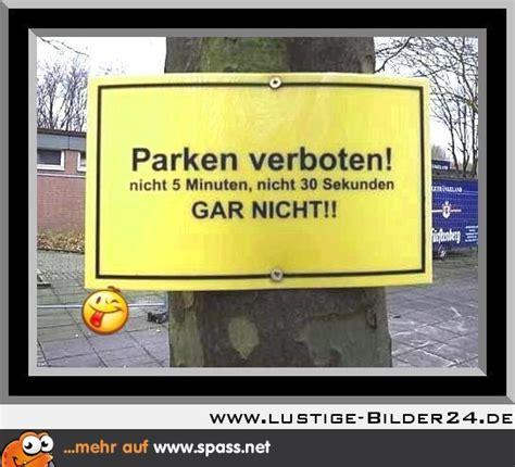 parken verboten lustige bilder auf spassnet