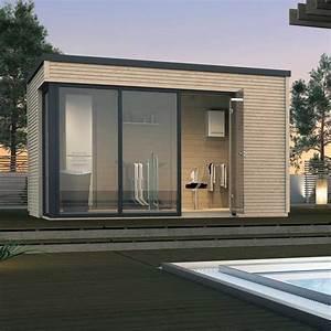 Gartenhaus Mit Glasfront : weka 45 mm designhaus cubilis 412 garten pinterest gartenhaus garten und haus ~ Markanthonyermac.com Haus und Dekorationen