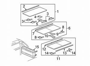 Chevrolet Avalanche Truck Bed Lid Weatherstrip  Front   Cover  Hard  Tonneau
