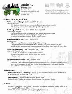 Landscaper Resume Be One Landscaping Resume Samples