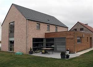 contemporaine brique With maison brique et bois