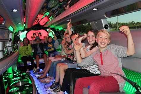 Birthday Limousine by Limo Hire Melbourne