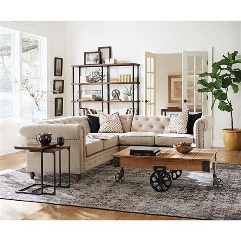 home decorators collection gordon  piece natural linen