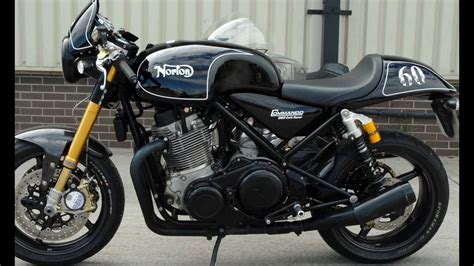 2016 Norton Commando 961 Cafe Racer Black