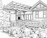 Coloring Drawings Line Drawing Cool Floor Malvorlagen Erwachsene Exterior Plan Outline Bing Interior Rendering Scheme Printable Adults Building Adult Popular sketch template