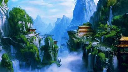 Chinese Dynasty Imperial Pretty Nature Background Asian