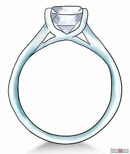 how to draw a diamond ring With how to draw a wedding ring