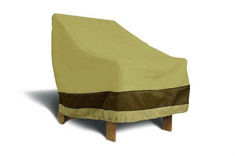 veranda elite patio high back chair cover 55 084 011501 00