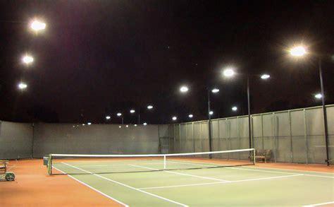 brite court tennis lighting outdoor led tennis lighting