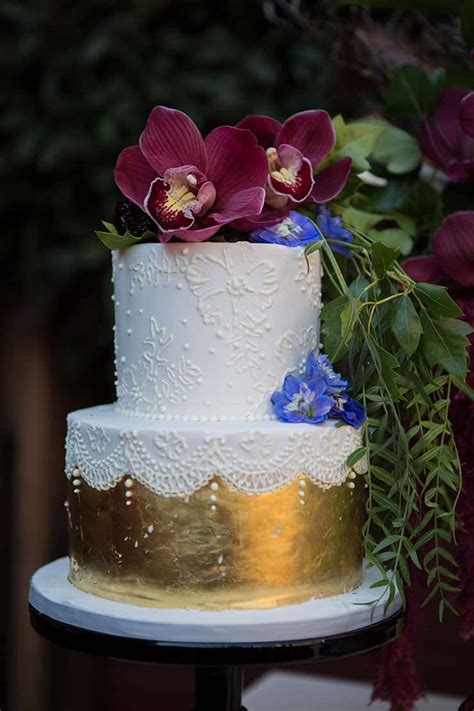 jewel toned secret garden wedding inspiration