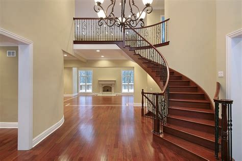 Home Stair : Amazing Luxury Foyer Design Ideas (photos) With Staircases