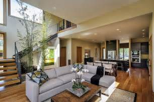 Modern Home Interiors Pictures Contemporary Style Home In Burlingame California Architectural Drawing Awesome