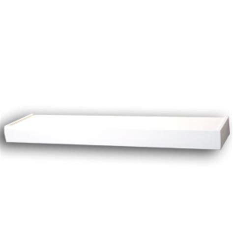 36 inch white floating shelves 36 quot white floating shelf at menards 174 7335