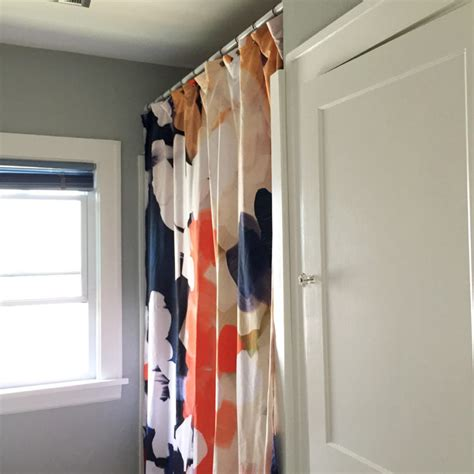 turning a society6 tapestry into a diy shower
