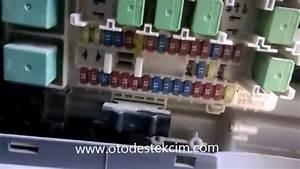 Isuzu Sigorta Kutusu - Fuse Box