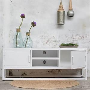 Urban Design Möbel : industrie design tv m bel urban tisch fernseh kommode rack board metall vintage wei new ~ Eleganceandgraceweddings.com Haus und Dekorationen