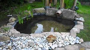 bassin d39ornement youtube With bassin d ornement jardin
