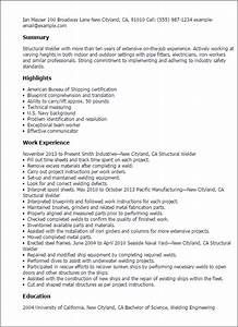 structural welder resume template best design tips With structural steel fabricator resume sample