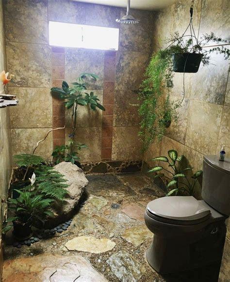 rain forest bathroom jungle bathroom tiny house