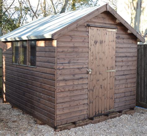 Shed A by Contractors Apex Shed Somerlap Forest Products Uk