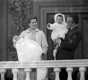 Grace Kelly and Prince Rainier of Monaco and their ...