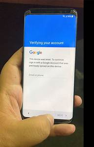 Google Account Frp  Bypass  Removal For Samsung Galaxy S8
