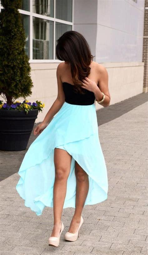 pretty mint long sleeve high  dress sheer flowy skirt