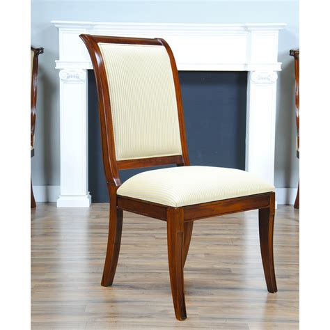 Regency Upholstered Dining Chair Niagara Furniture Solid