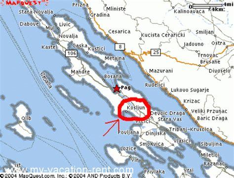 Appartamenti Isola Di Pag Croazia by Appartamenti Milan Kosljun Isola Di Pag Quarnaro
