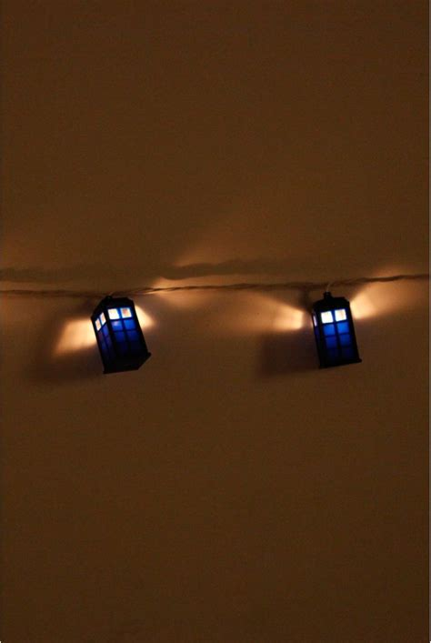 tardis christmas lights doctor who pinterest