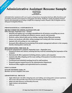 Administrative assistant resume example write yours today for Free sample resume for administrative assistant