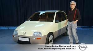 C8 Corvette Designer Opel Designer Shows Off 1983 Opel Junior Concept Gm