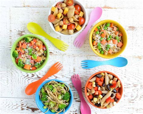 5 Quick And Easy Kidfriendly Pasta Salads