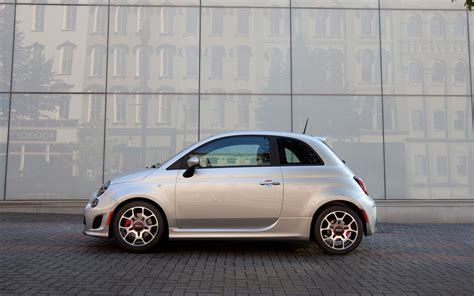 2018 Fiat 500 Turbo Side View Photo 1