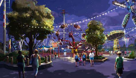 """Cedar Fair L P  New """"classic"""" Thrill Rides And Winterfest"""