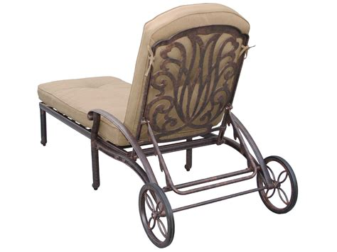 chaise metal vintage darlee outdoor living standard elisabeth cast aluminum antique bronze chaise lounge dl707 33