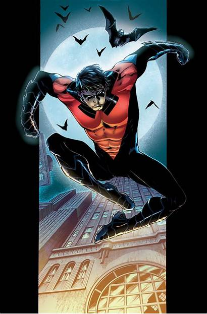 Nightwing 52 Arsenal Starfire Cyborg Raven Beast