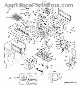 Parts For Ge Jvm3670bf10  Microwave Parts