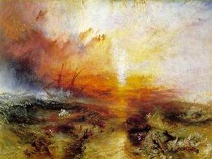 Turner, The Slave Ship, 1840. | Things for My Wall | Pinterest
