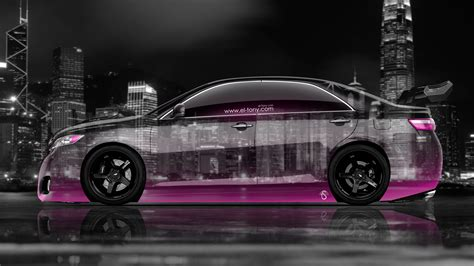 Toyota Camry 4k Wallpapers by 4k Toyota Camry Jdm Tuning Side City Car 2014 El