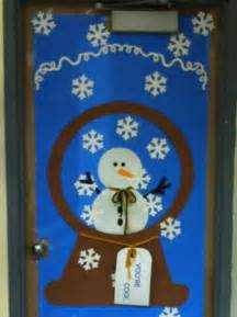 winter door decoration for class bulletin boards pinterest