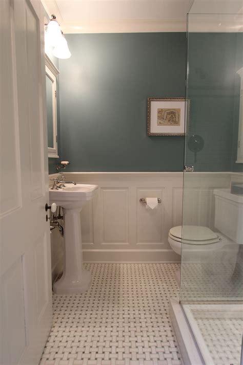 bathroom with wainscoting ideas master bathroom design decisions tile vs wood