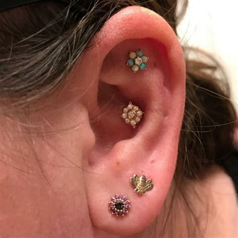 conch piercing  ideas pain level healing time cost