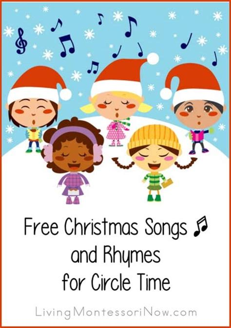 mega in july theme for preschool the 550 | Free Christmas Songs and Rhymes for Circle Time