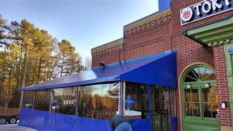 awning style fabric accent awnings